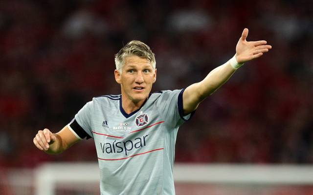 Bastian Schweinsteiger mit Verletzung ausgewechselt in Nachspielzeit