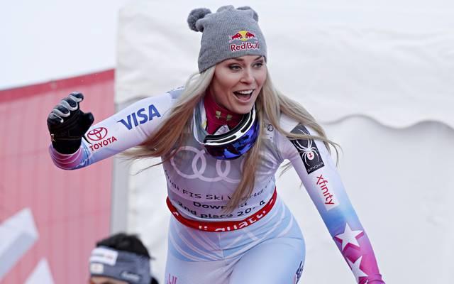 Lindsey Vonn feierte 82 Weltcupsiege in ihrer Karriere