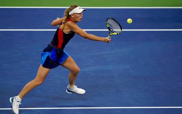 Caroline Wozniacki scheiterte an Lesia Tsurenko