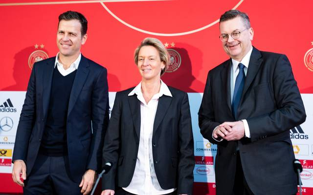The DFB Unveils The New Head Coach Of The Women's National Team Martina Voss-Tecklenburg