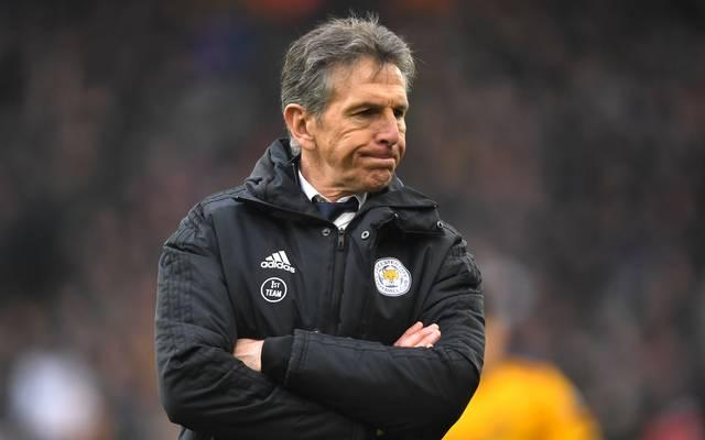Claude Puel steht nicht mehr in Diensten von Leicester City