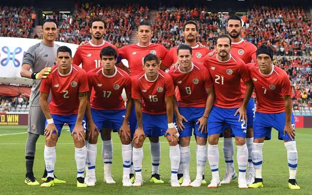 Mannschaftsfoto von Costa Rica