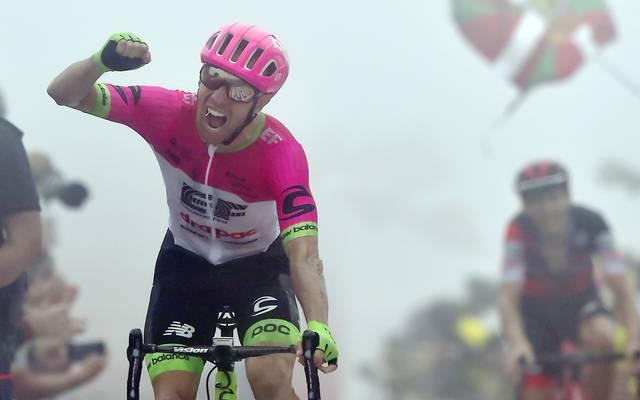 Vuelta 2018: Michael Woods gewinnt Bergankunft - Yates bleibt in Front