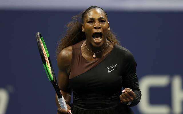 US Open 2018: Serena Williams schlägt Karolina Pliskova im Viertelfinale