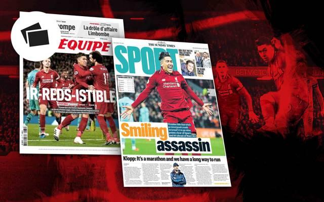 Die Presse feiert den FC Liverpool nach der 5:1-Gala gegen den FC Arsenal