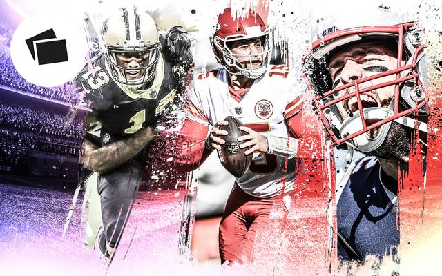 New Orleans Saints, Kansas City Chiefs, New England Patriots - drei heiße Kandidaten auf den Super Bowl
