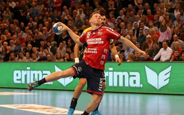 Magnus Jondal war mit acht Toren bester Werfer der SG Flensburg-Handewitt