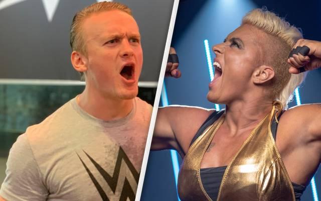 Ilja Dragunov und Jazzy Gabert schließen sich WWE an