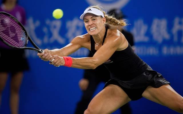 Angelique Kerber scheitert in Wuhan als letzte deutsche Spielerin