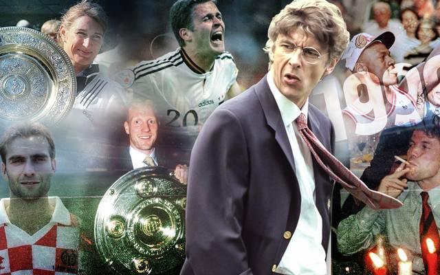 Arsene Wenger hört beim FC Arsenal auf: So verrückt war sein Antrittsjahr 1996