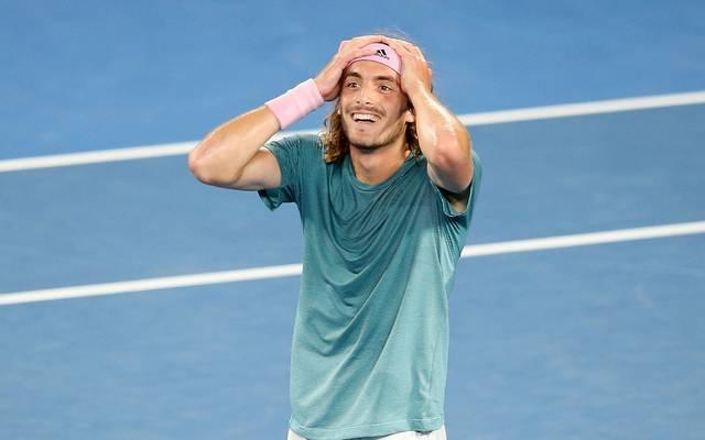 2019 Australian Open - Day 7 Stefanos Tsitsipas