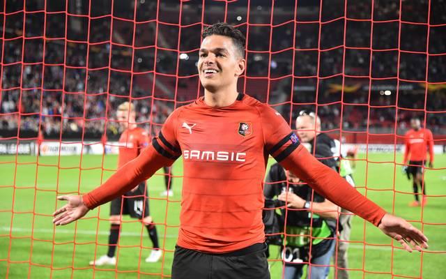 Hatem Ben Arfa schoss Stade Rennes bei seinem Debüt in letzter Minute zum Auftaktsieg in der Europa League