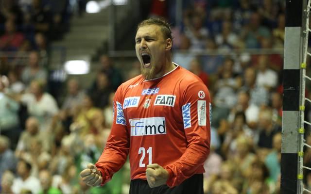 Dario Quenstedt spielte seit 2013 für den SC Magdeburg