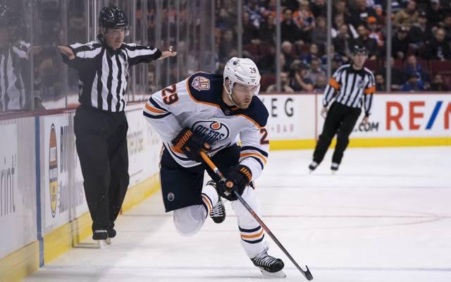 Der Doppelpack von Leon Draisaitl war für die Oilers nicht genug