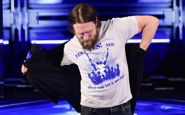 Daniel Bryan steigt bei WWE WrestleMania 34 wieder in den Wrestling-Ring