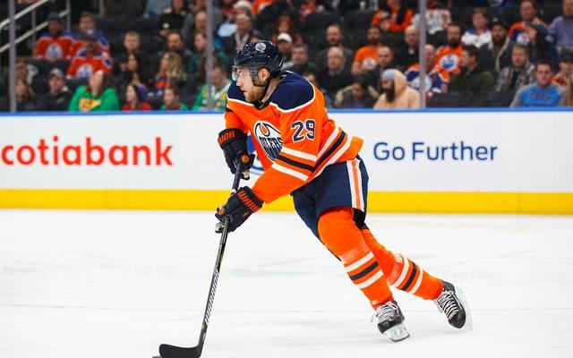 Leon Draisaitl von den Edmonton Oilers hat bisher zehn Tore auf dem Konto