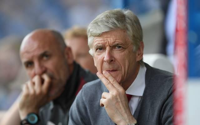 Arsene Wenger trainierte 22 Jahre lang die Gunners