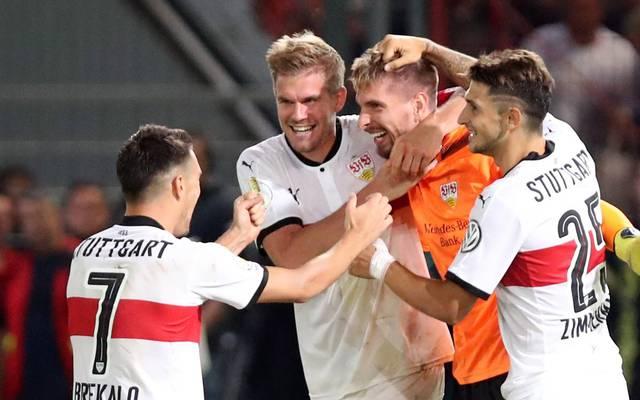 Der VfB Stuttgart musste im DFB-Pokal in Cottbus ins Elfmeterschießen