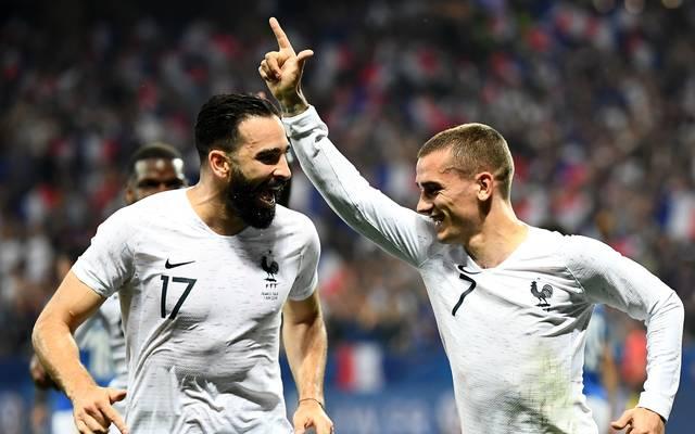 Die Frankreich-Stars zeigten sich als Fortnite-Fans