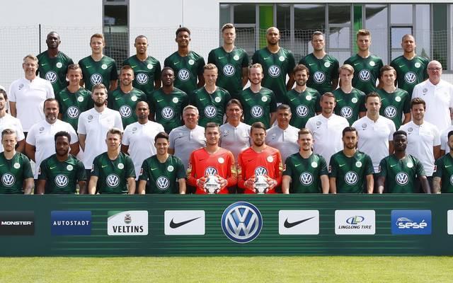 Mannschaftsfoto von VfL Wolfsburg