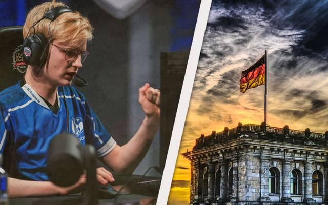 """Elias """"Upset"""" Lipp ist deutscher eSportler bei Schalke 04."""