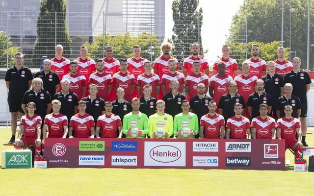Mannschaftsfoto von Fortuna Düsseldorf