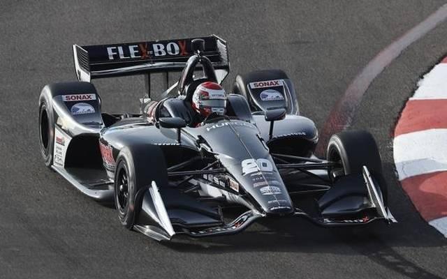Ed Jones' Debüt bei Ed Carpenter Racing lief nicht wie gewünscht