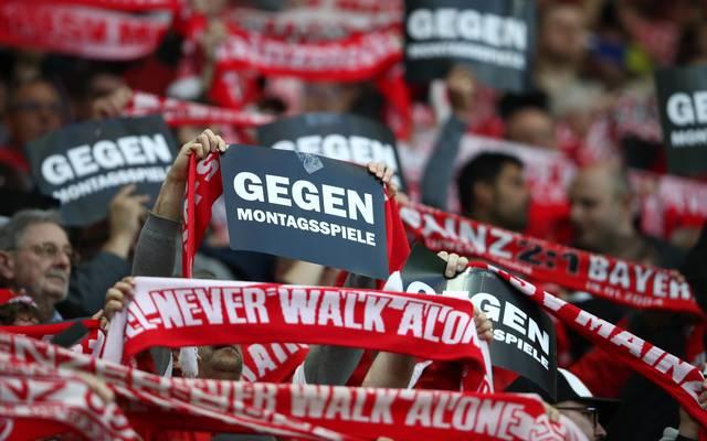 Fangruppen kündigen für den 13. Spieltag Proteste gegen Montagsspiele an