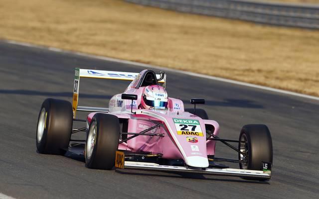 David Schumacher sicherte sich im Qualifying zum zweiten Rennen am Hockenheimring Platz drei
