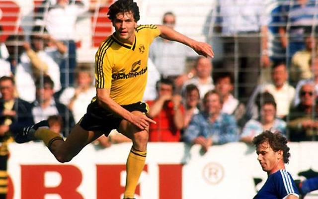 Borussia Dortmund gegen FC Schalke 04 im Jahr 1981