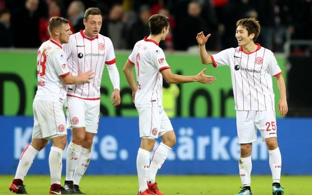 Die Düsseldorfer wollen mit einem Sieg gegen Union Berlin die Tabellenführung festigen