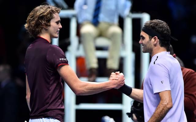 Roger Federer spendete Alexander Zverev Trost