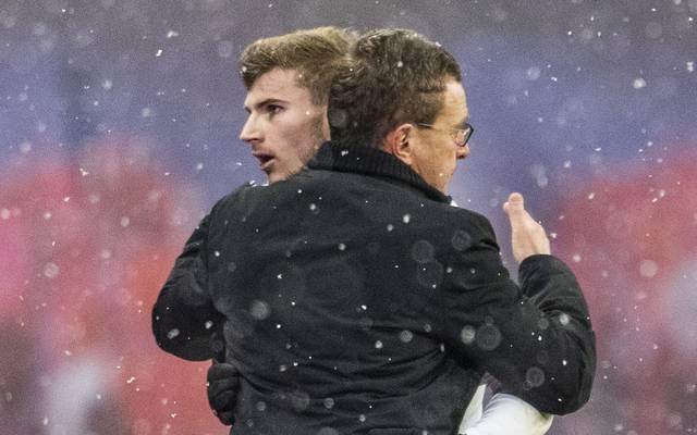 Timo Werner steht in Leipzig bis 2020 unter Vertrag
