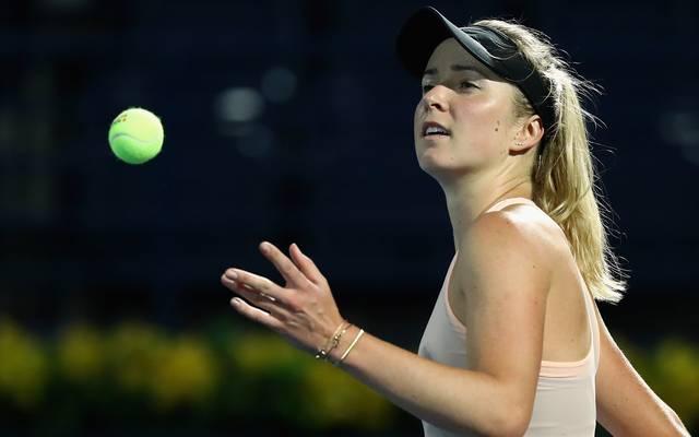Jelena Switolina ist die Nummer vier der Weltrangliste