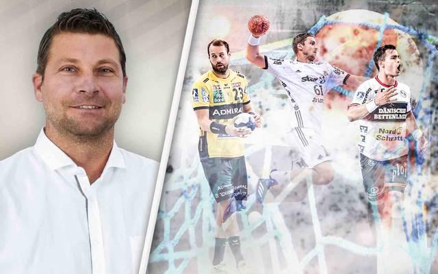 Daniel Stephan blickt auf den Titelkampf und die Rollen von Steffen Fäth, Hendrik Pekeler und Rasmus Lauge (v.l.n.r.)
