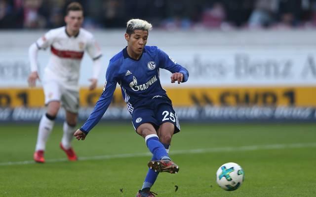 Amine Harit erzielte in der abgelaufenen Saison drei Tore für Schalke 04