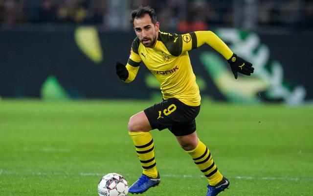 Der Wechsel von Paco Alcacer zum BVB ist jetzt auch formell in trockenen Tüchern