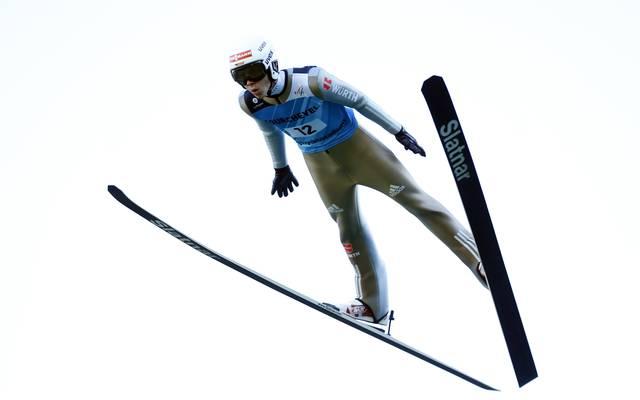 Der 18-jährige Constantin Schmid sprang in der Quali auf einen starken 19. Platz