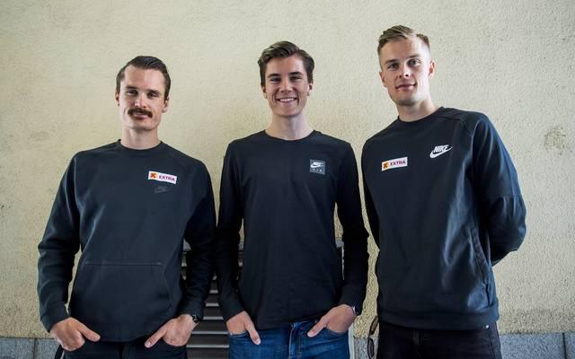 Henrik, Jakob und Filip Ingebrigtsen gehen bei der EM über 1500 Meter als Mitfavoriten an den Start