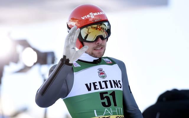 Johannes Rydzek bildete mit Fabian Rießle ein Team