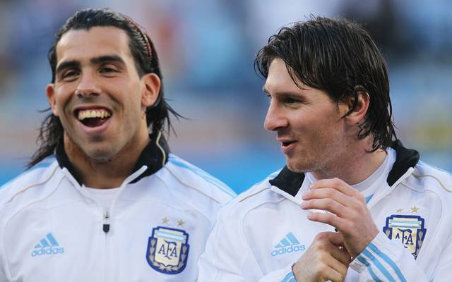 Carlos Tevez und Lionel Messi standen gemeinsam für die Albiceleste auf dem Platz