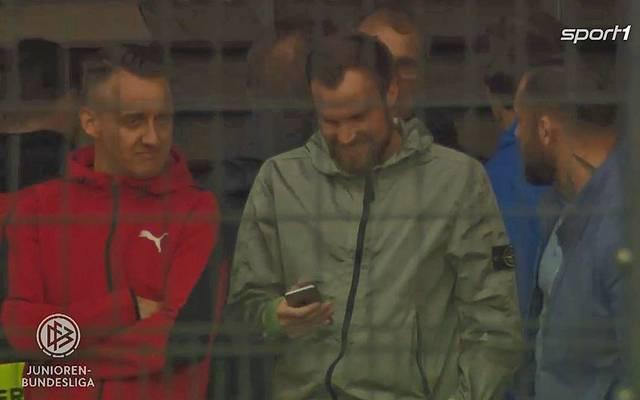 Auch Kevin Großkreutz war beim U19-Spiel des BVB zu Gast