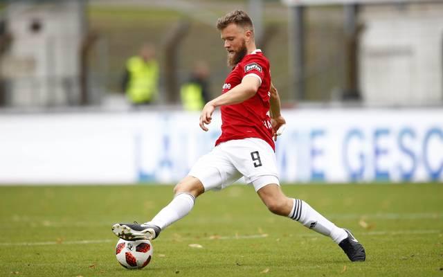 3. Liga: Torjäger Stephan Hain verlängert bei SpVgg Unterhaching , Stephan Hain erzielte bereits 13 Treffer für Unterhaching in dieser Saison
