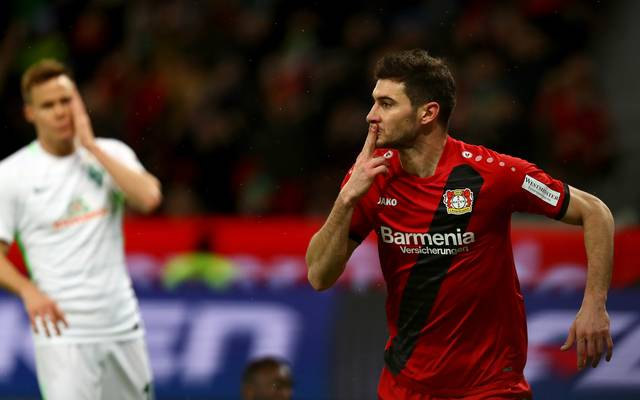 Lucas Alario sorgt für eine Fortsetzung des Leverkusener Höhenflugs