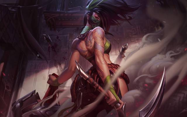 League of Legends: Akali mit komplettem Rework und neuen Skills