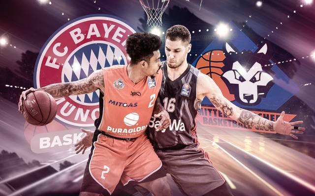 Die Basketballer des FC Bayern treffen auf den MBC
