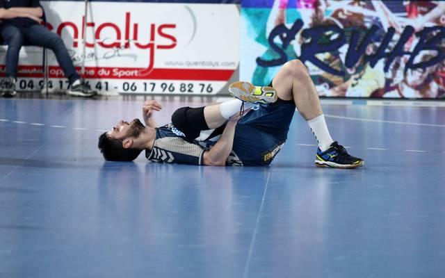 Marko Kopljar von den Füchsen Berlin fällt bis zum Saisonende aus