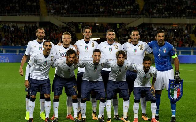 Mannschaftsfoto von Italien