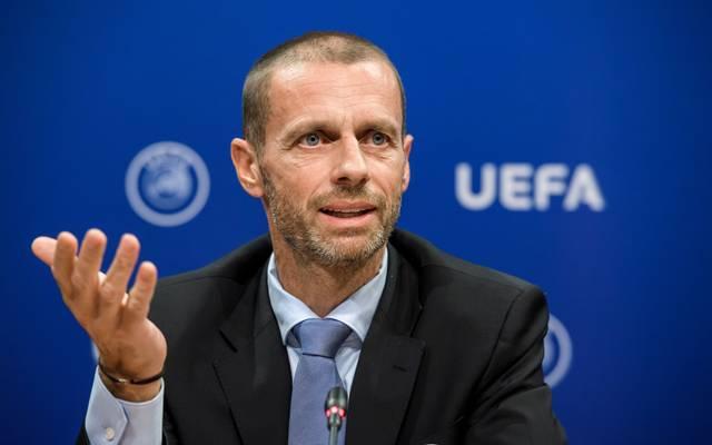 Aleksander Ceferin ist Präsident der europäischen Fußball-Union UEFA