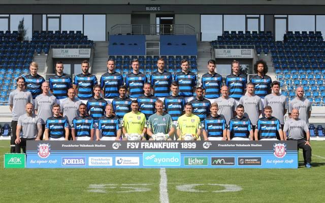 Mannschaftsfoto von FSV Frankfurt